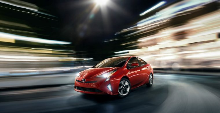 2016 Toyota Prius global sales lead