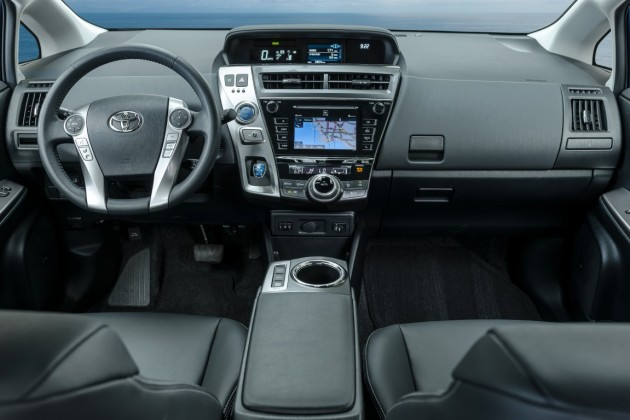 2016 toyota prius v overview the news wheel. Black Bedroom Furniture Sets. Home Design Ideas