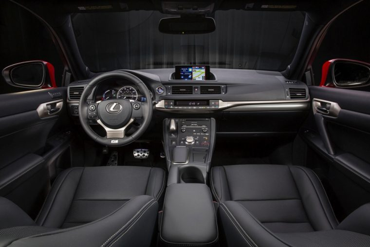 2016 Lexus Ct Hybrid Interior