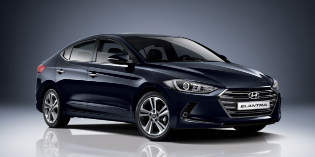2017 Hyundai Elantra compact sedan design reveal