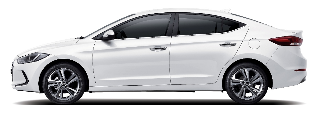 2017 Hyundai Elantra Compact Sedan Design Reveal Side
