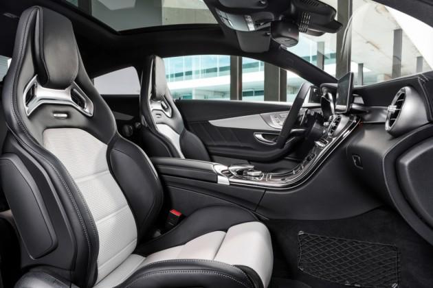2017 Mercedes-AMG C63 Coupe interior