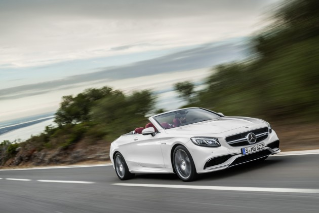 The new 2017 Mercedes-Benz S-Class Cabriolet will be the first open-top flagship four-seater from Mercedes since 1971