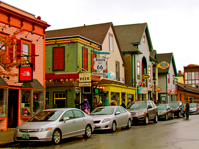 Bar harbor maine the news wheel for Small east coast beach towns