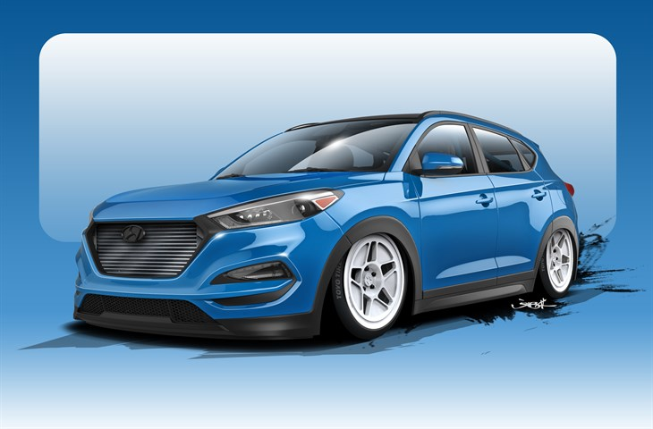 Bisimoto Engineering's First CUV is the Most-Powerful Tucson Ever