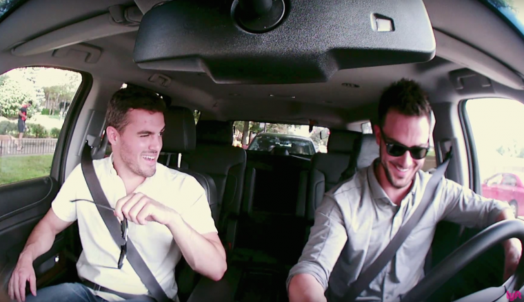 Chicago Cubs star Kris Bryant drives a Lyft