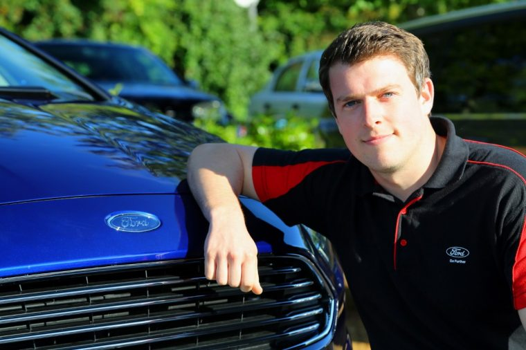 Dan Jones, Ford of Britain PR Chief Product Press Officer
