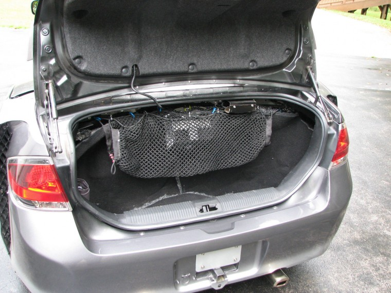 Ford Focus Honda Goldwing trunk