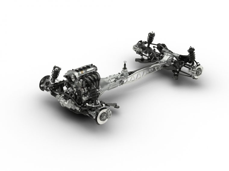 Fourth-generation MX-5 SKYACTIV chassis
