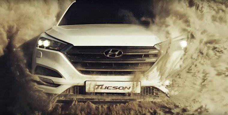 Hyundai Tucson SUV sand city commercial