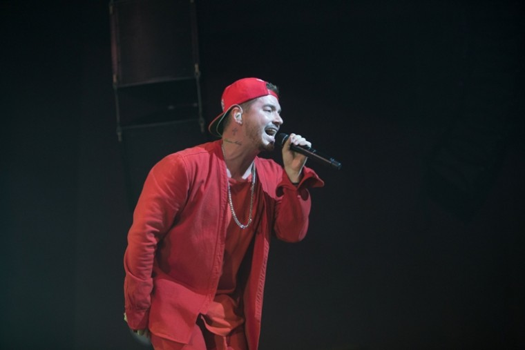 J Balvin opens his La Familia tour in Miami
