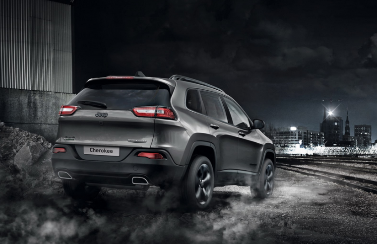 Jeep Cherokee Night Eagle Edition Rear End