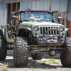 Jeep Wrangler Pickup Truck Front End