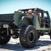 Jeep Wrangler Pickup Truck Rear End