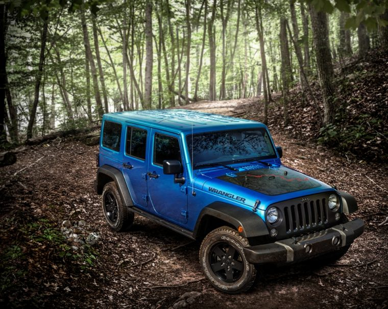 2016 Jeep Wrangler Unlimited Black Bear Edition