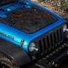2016 Jeep Wrangler Unlimited Black Bear Edition Hood Detail