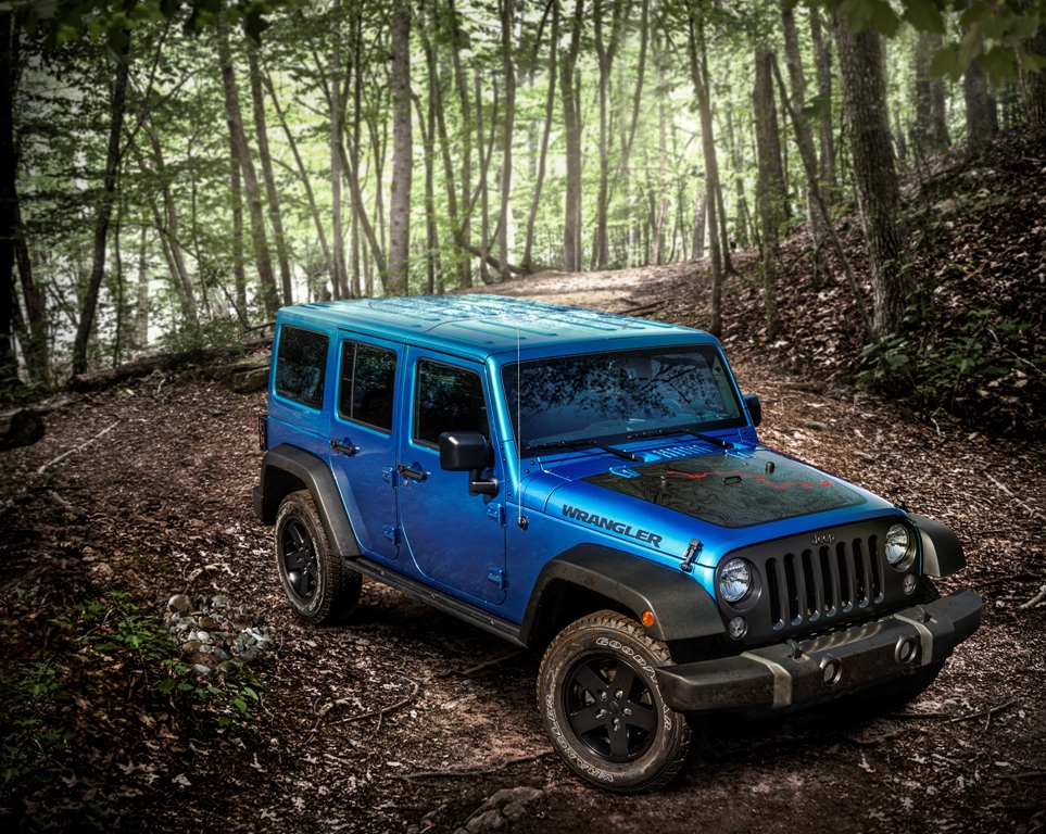 Jeep Lets Loose Black Bear Edition Wrangler - The News Wheel