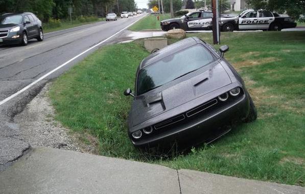 Justin Gilbert Ditch Crash