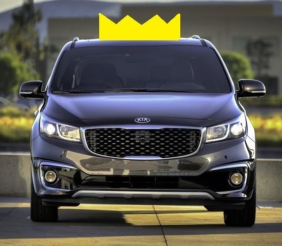 Kia Van 2015: Kia Sedona Walks Away With Crown And Ultimate Minivan