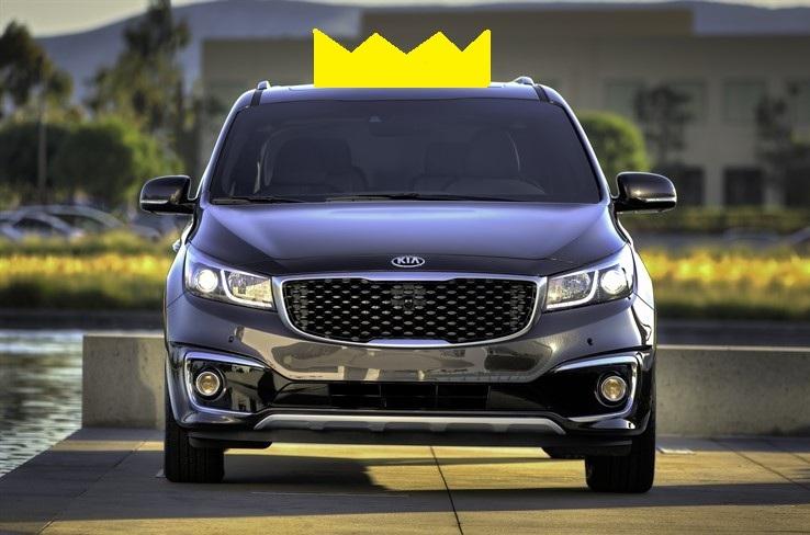 Kia Sedona Crowned Ultimate Minivan