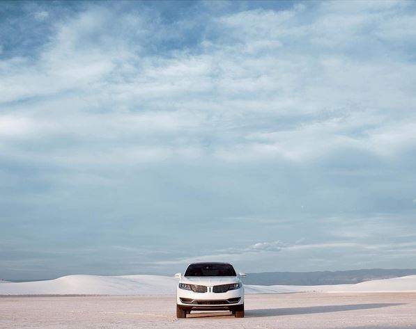 2016 Lincoln MKX in White Sands National Park, New Mexico