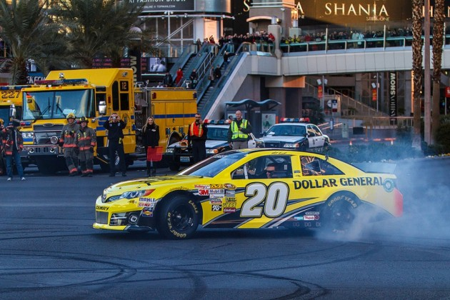 Kenseth picked up the win at Richmond in the regular season finale.