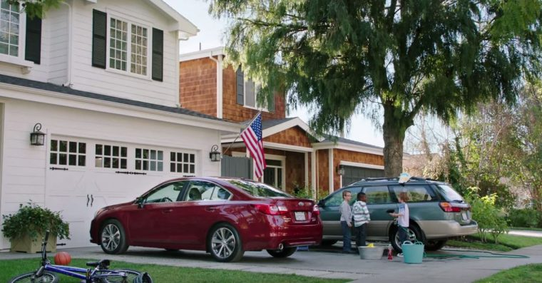 subaru mitch commercial - legacy and outback