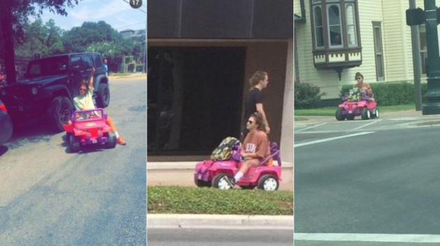 Monroe Cruising Around Town