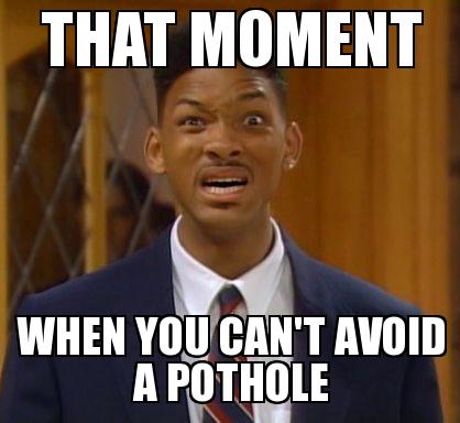 Pothole Will Smith