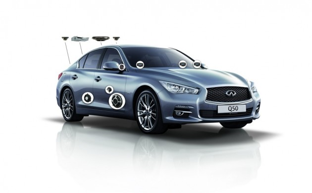 Infiniti Q50 Sound Studio by Bose
