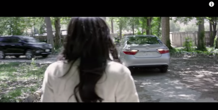 Reversion movie Toyota Camry