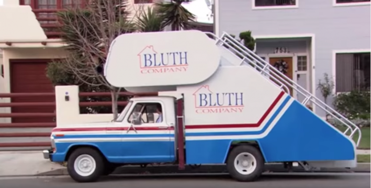 Bluth stair car arrested development