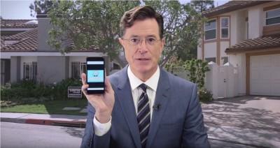 Stephen Colbert Waze App
