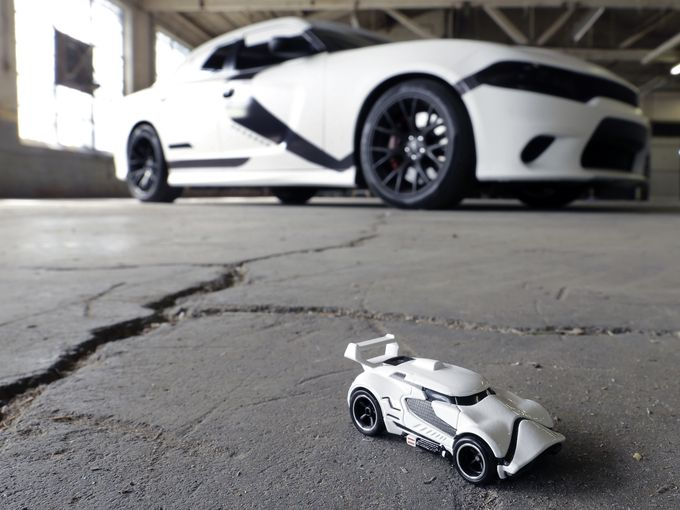 Stormtrooper Dodge Charger
