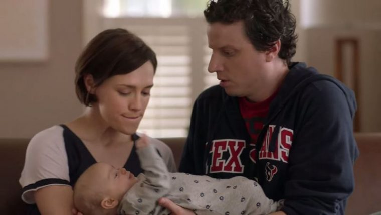 VIDEO New Hyundai NFL Ad Field Goal  Man watching football baby