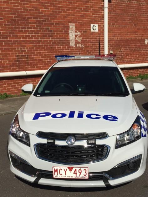 Holden Cruze Victoria Police Australia
