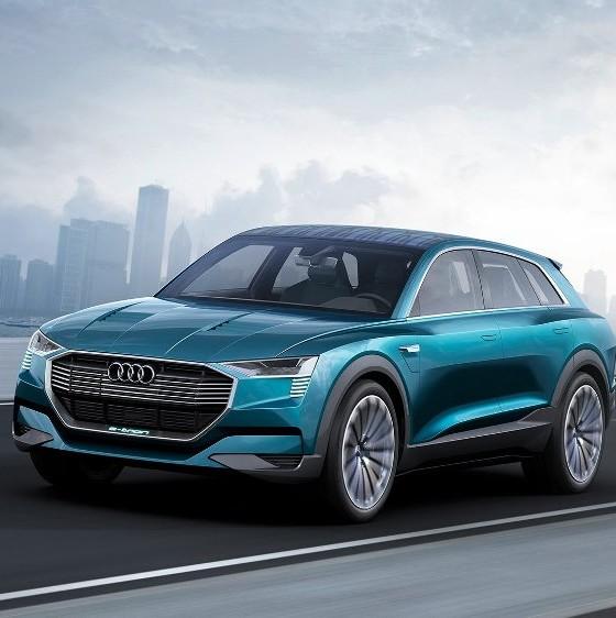 Audi Reveals Electric E-tron Quattro Concept