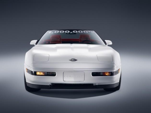 restored one millionth Corvette rescued from National Corvette Museum sinkhole