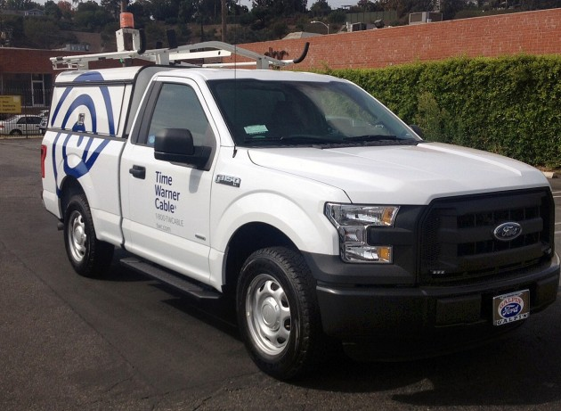 Time Warner Cable Adds Ford F-150 to Fleet