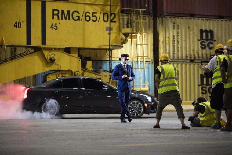 2016 Cadillac ATS-V fashion shoot