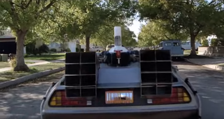 1985 Delorean DMC-12 Doc Brown Mr fusion