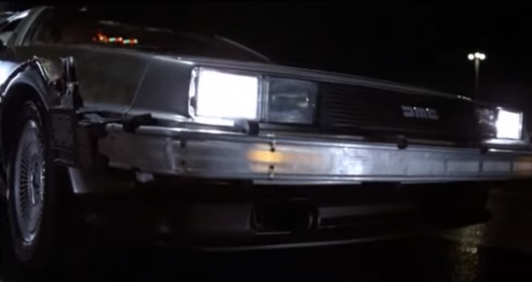 1985 Delorean DMC-12 Doc Brown front