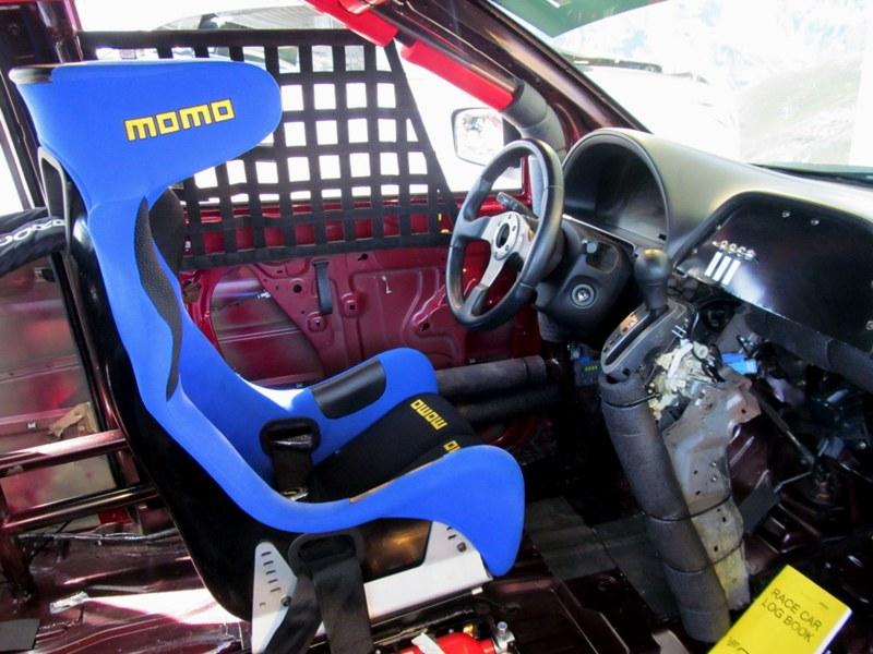 2005 Honda Racing Odyssey Van Interior Driver Seat The