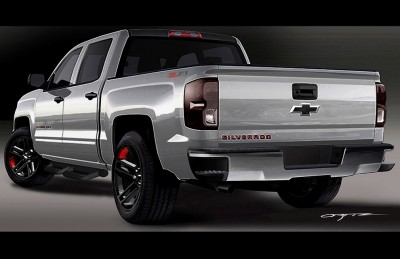 Silverado 1500 Red Line Series concept