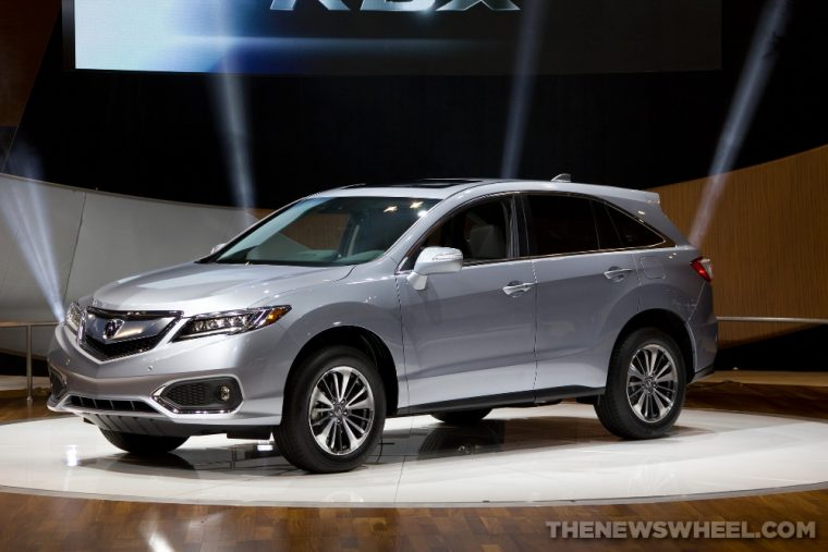 The 2016 Acura RDX comes with Daytime Running Lights