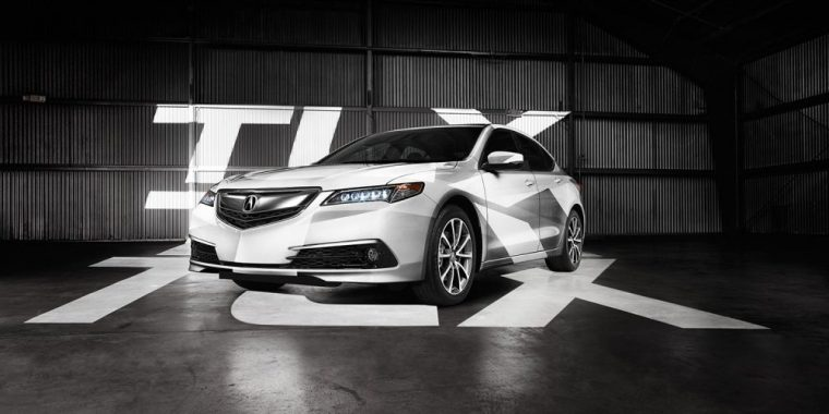 The 2016 Acura TLX comes standard with a 2.4-liter Direct Injection four-cylinder engine good for 206 horsepower and 182 lb-ft of torque