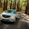 The 2016 Buick Enclave are available with 19-inch chrome-clad aluminum wheels