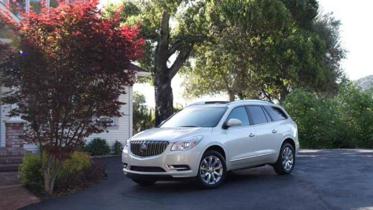 Four-wheel antilock disc brakes are one of the safety features incorporated as part of the 2016 Buick Enclave