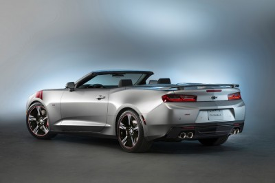 2016 Chevy Camaro SS convertible Red Accent concept