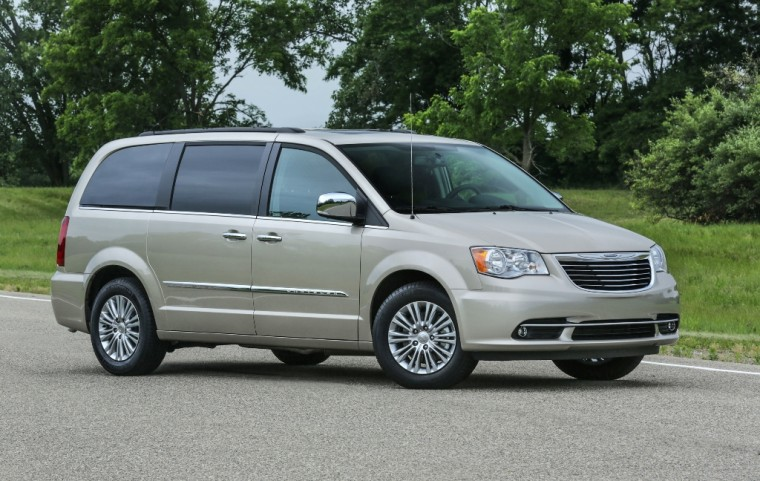 2016 Chrysler Town & Country Silhouette
